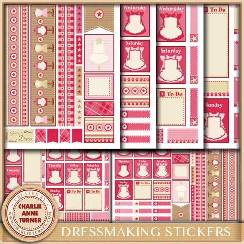 Dress Stickers