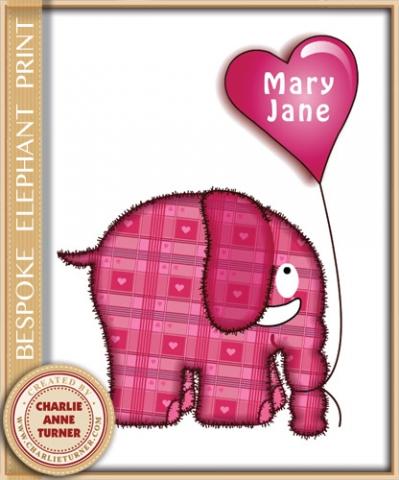 Bespoke elephant print