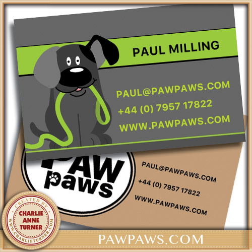 PawPaws Business Card
