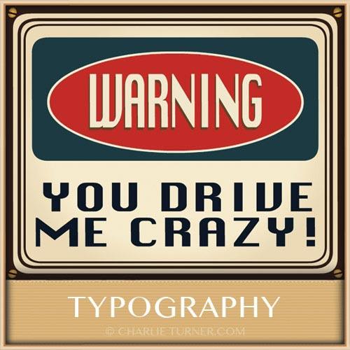 typography & nostalgia gallery