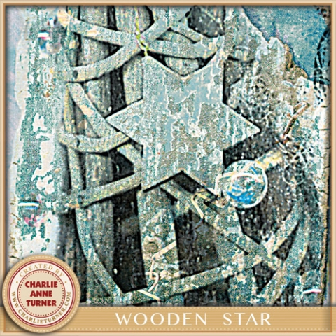 Wooden Willow Star Christmas