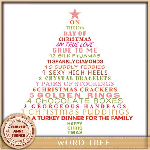 Pink Word Tree