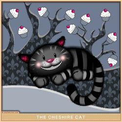 The Cheshire Cat from Alice in Wonderland