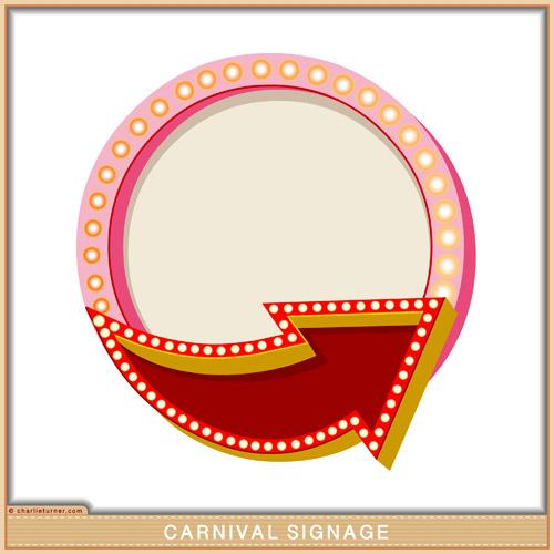 Carnival Signage