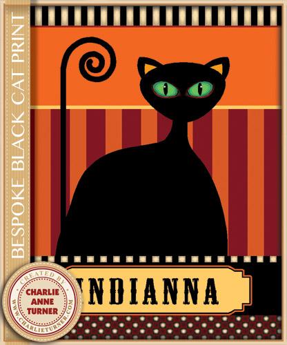 Bespoke Black Cat