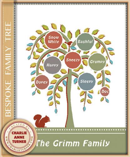 Bespoke Family Tree