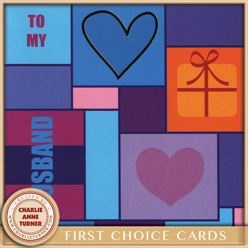 Love you Husband for First Choice Cards