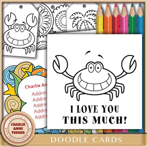 Doodle Love Crab