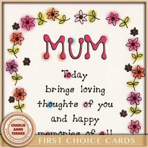 Mum for First Choice Cards