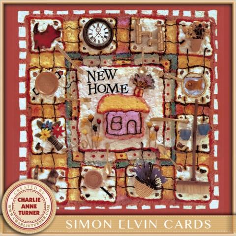 New Home card for Simon Elvin