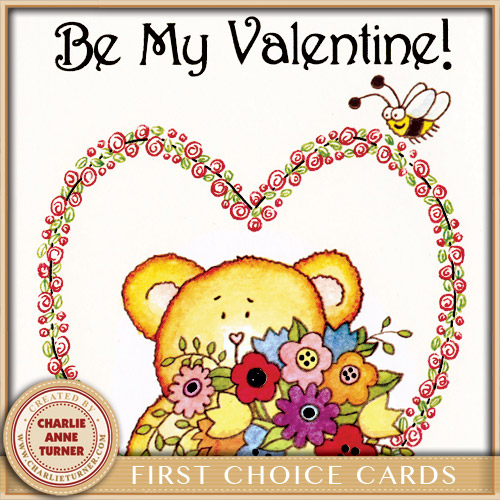 Valentine for First Choice Cards