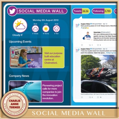 Anglia Water Social Wall