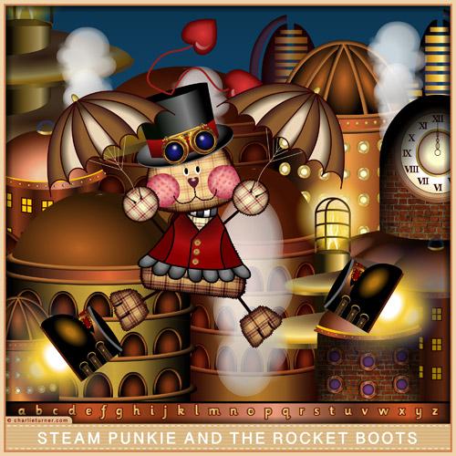 Steam Punkie & the Rocket Boots