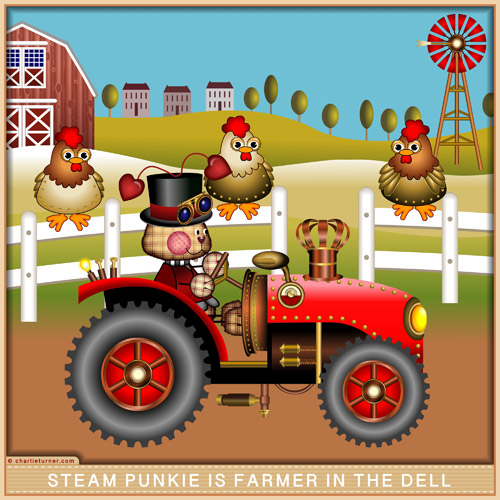 Steam Punkie is Farmer in the Dell