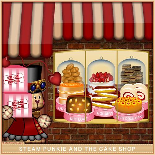Steam Punkie & the Cake Shop