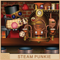 Steam Punkie books